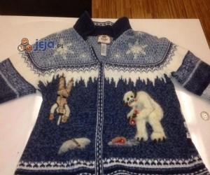 Świąteczny sweter dla fanów Star Wars