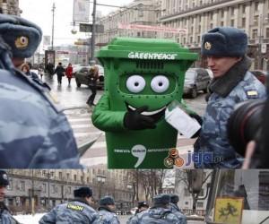 Co robią z Greenpeacem w Rosji
