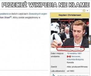Przecież wikipedia nie kłamie
