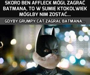 Każdy może zagrać Batmana