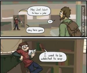 Suchy żart Ellie z The Last of Us