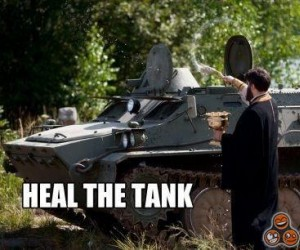 Poświęcony czołg