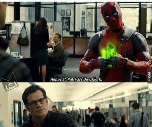Wesołego dnia świętego Patryka, Clark