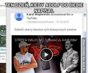 Ten dzień, kiedy Adolf do ciebie napisał