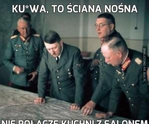 Ku*wa, to ściana nośna