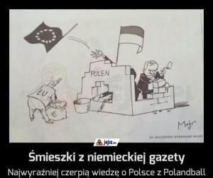 Śmieszki z niemieckiej gazety