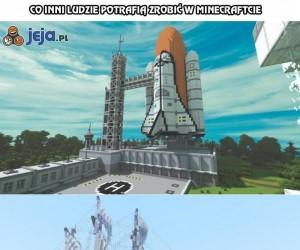 Co inni ludzie potrafią zrobić w Minecraftcie