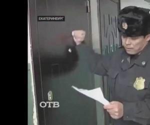 Podejrzany ukrywał się w lodówce