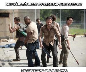 Jak myślimy, że będzie wyglądać apokalipsa zombie