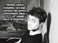 Skromny Daniel Radcliffe