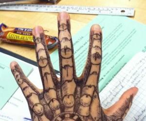 Gdy na lekcji się nudzi...