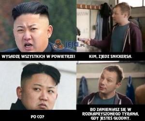 Kim, zjedz Snickersa!