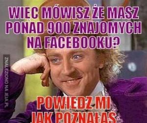 Znajomi na Facebooku