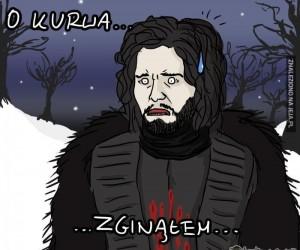 UWAGA SPOILER!!! Jon, jak mogłeś...?