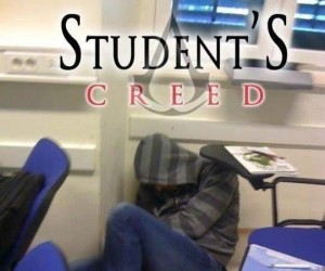 Student's creed