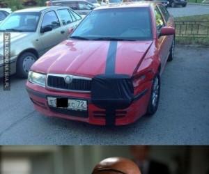 To moje autko!