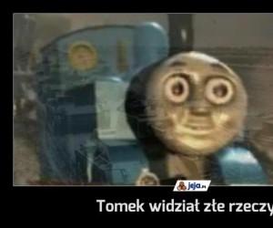 Tomek widział złe rzeczy...