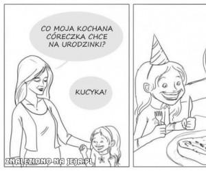 Kucyk na urodzinki...