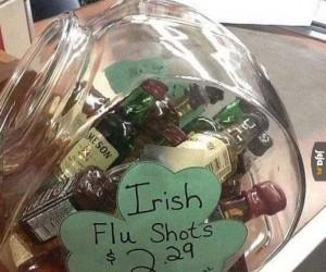 Irlandzka szczepionka na grypę