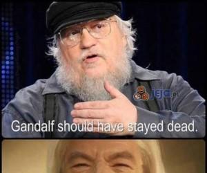 Gandalf powinien zostać martwy
