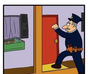 Podejrzane domostwo...