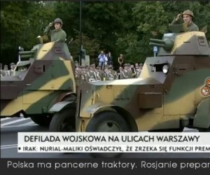 Polska ma pancerne traktory