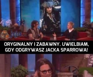 Kapitan Jack Sparrow - zapamiętaj to!
