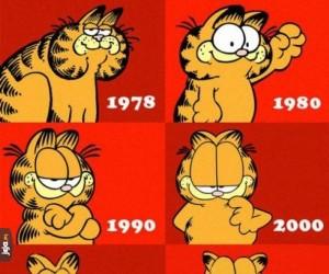 Ewolucja Garfielda