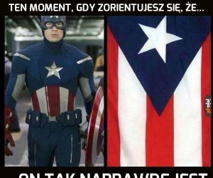 Kapitan Am...eee...?
