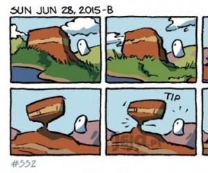 Krótki komiks o erozji