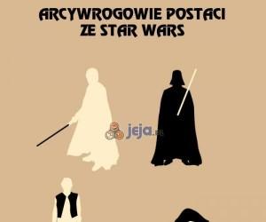 Arcywrogowie postaci ze Star Wars