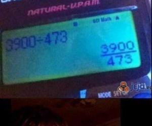 Kalkulator taki pomocny...