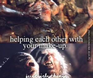 Gdy pomagamy sobie z make-upem