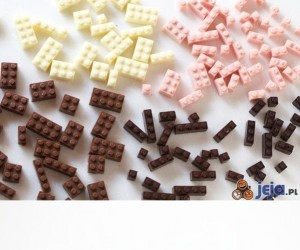 LEGO czekolada