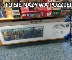 To się nazywa puzzle!