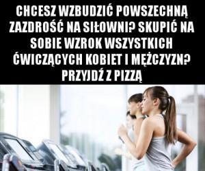 Szpan na siłowni