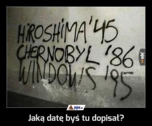 Jaką datę byś tu dopisał?