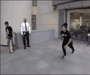 Myślałem, że się wypierniczy, ale to prawdziwy ninja