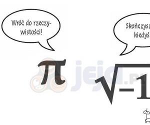 Spotykają się liczba Pi i urojona