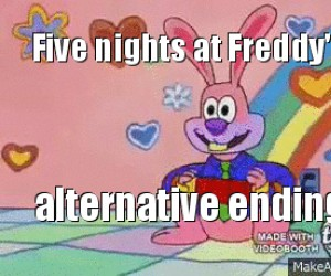 "Alternatywny koniec ""Five nights at Freddy"""