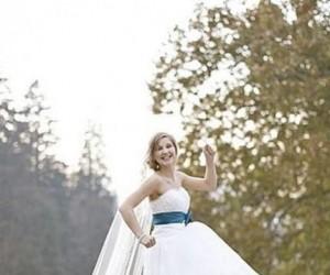 Ciekawe zdjęcie ślubne
