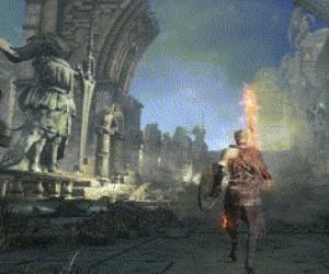 Gdy próbujesz nagrać efektowną scenkę w Dark Souls