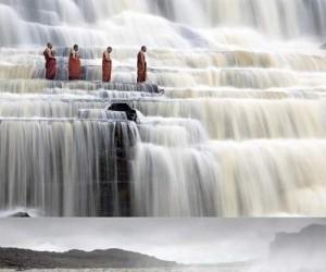 Przepiękne wodospady