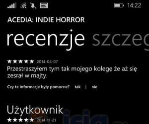 To musiał być dobry horror...