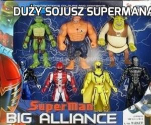 Duży sojusz Supermana!