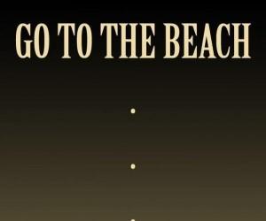 Na plaży jak dżentelmen
