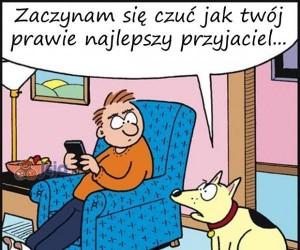 Zazdrosny o telefon?