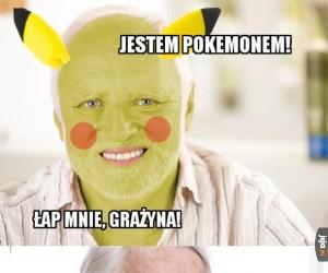 Dziwny Pan jest... Pokemonem!