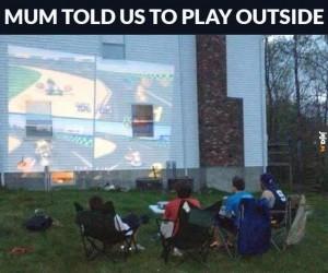 Pobaw się na zewnątrz