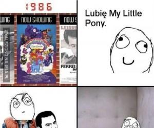 Wielka miłość do My Little Pony...